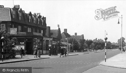 Bedfont, Staines Road c.1951