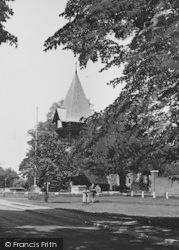 Bedfont, The Church c.1951