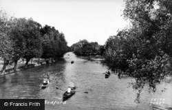 Bedford, From Suspension Bridge 1921