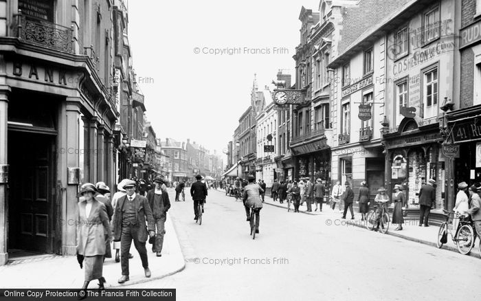Photo of Bedford, High Street 1921