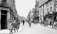 Bedford, High Street 1921