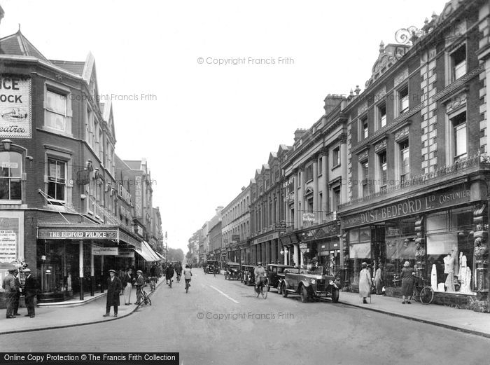 Photo of Bedford, High Street 1929