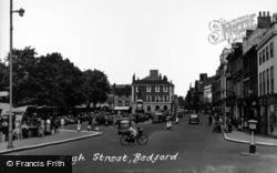 Bedford, High Street c.1955