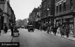 Bedford, High Street, Traffic 1929