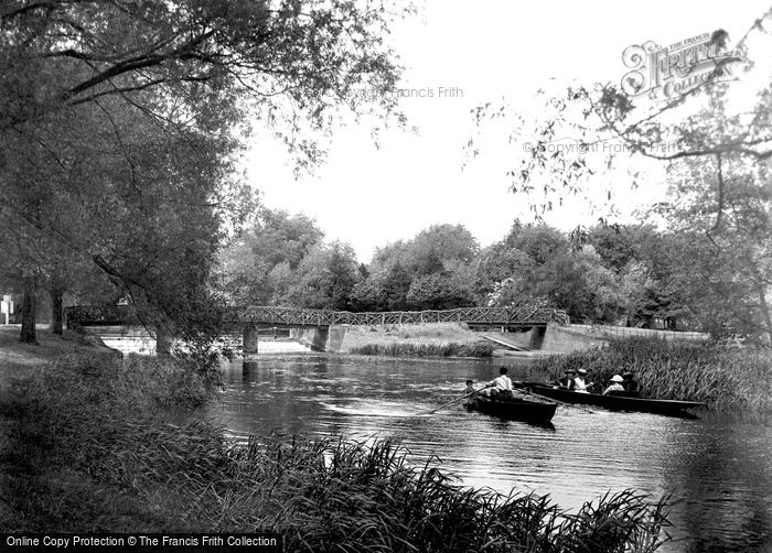Bedford, Lower River And Weir 1921