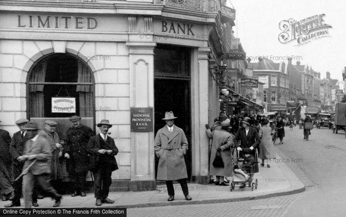 Bedford, National Provincial Bank 1929