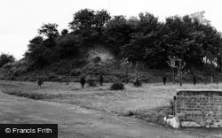 Bedford, Risinghoe Castle 1954