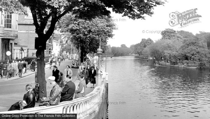 Bedford, River Ouse c.1955