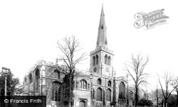 Bedford, St Paul's Church 1898