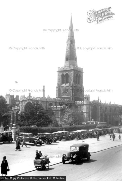 Bedford, St Paul's Church 1929