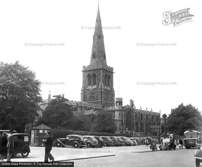 Bedford, St Paul's Church c.1955