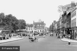Bedford, St Paul's Square c.1955