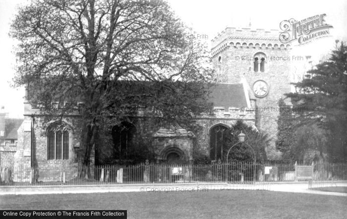 Bedford, St Peter's Church 1898