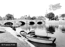 Bedford, The Bridge c.1965