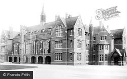 Bedford, The Grammar School 1898