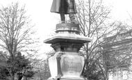 Bedford, The Howard Monument 1898