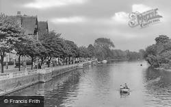 Bedford, The River c.1955