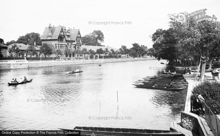 Bedford, The River Ouse 1921