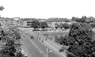 Bedford, The River Ouse And Town Bridge c.1960