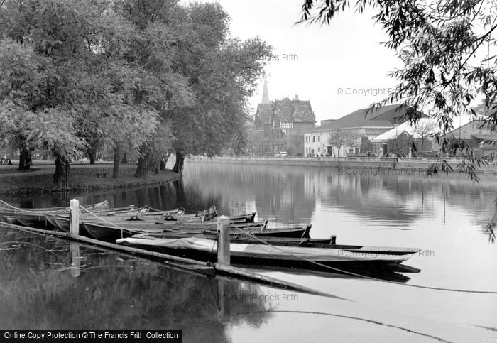 Bedford, The River Ouse c.1955