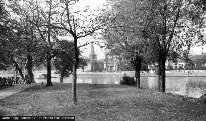 Bedford, The River Ouse c.1960