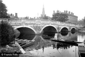 Bedford, the Town Bridge 1921