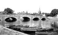 Bedford, Town Bridge c.1960