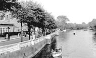 Bedford, View From Town Bridge c.1955