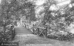 Park, The Footbridge 1902, Bedgebury