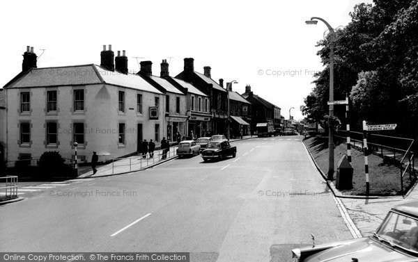 Photo of Bedlington, Front Street c1965, ref. B551028