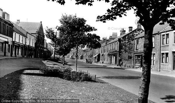 Photo of Bedlington, Front Street East c.1955