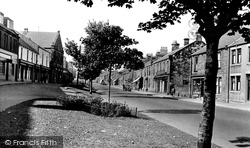 Bedlington, Front Street East c.1955
