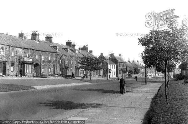 Photo of Bedlington, Front Street West c.1955