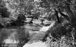 Bedlington, Humford Mill Stepping Stones c.1960