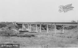 Bedlington, Kitty Brewster Bridge c.1960