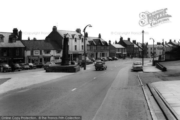 Photo of Bedlington, Market Place c1965, ref. B551027