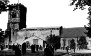 Bedlington, St Cuthbert's Church c.1955