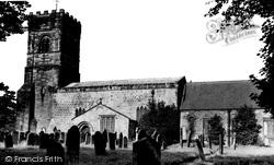 Bedlington, St Cuthbert's Church c.1955