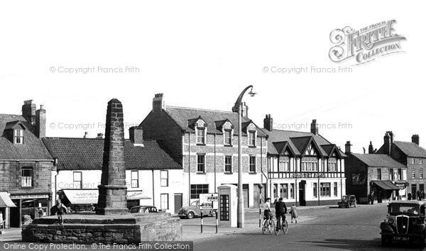 Bedlington, The Market Place c.1955