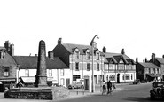 Bedlington, The Market Place c.1955