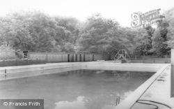 Bedlington, The Swimming Pool c.1965
