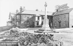 Bedlington, The War Memorial c.1955