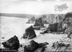 Bedruthan Steps, 1914