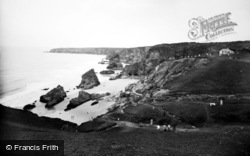 Bedruthan Steps, And Bay 1935