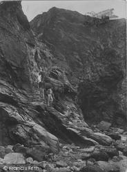 Bedruthan Steps, Bedruthan Old Steps 1928