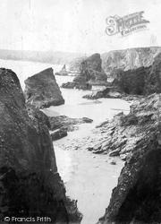 Bedruthan Steps, Bedruthan Steps 1914