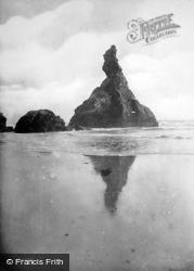 Bedruthan Steps, Queen Bess Rock Bedruthan Steps 1914