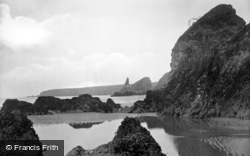 Bedruthan Steps, Rocks 1928