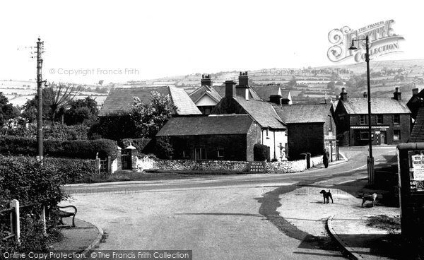 Bedwas, Newport Road and the Square c1960