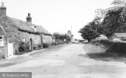 Rectory Lane c.1960, Beeford